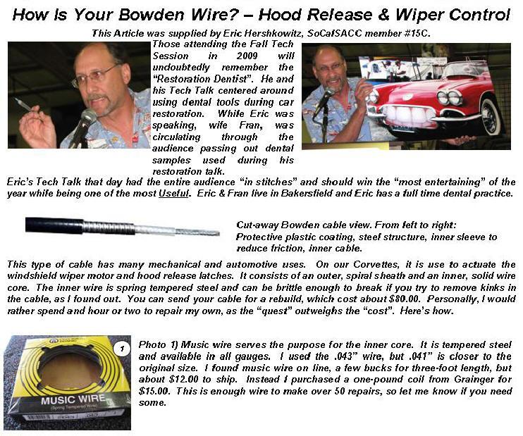 Bowden Wire 1